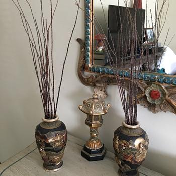 Japanese Urns - Asian