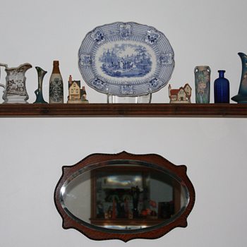 ----Old 1850's China Plater----