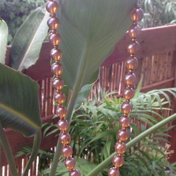 WMF Myra Krytall Glass Bead and Myra Ikora Glass Bead Necklaces - Costume Jewelry