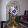 Neat looking old KS movement anniversary clock