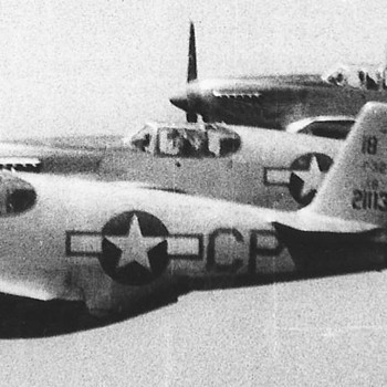 P-51s fighters - Military and Wartime
