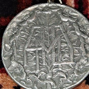 Medal Prima Esposizione Internazionale d'Arte Decorativa Moderna Turin, Italy 1902 Francisco Emilio Federico Dato-Tessitore - Art Nouveau