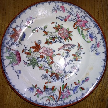 Part of my collection of early plates. - China and Dinnerware
