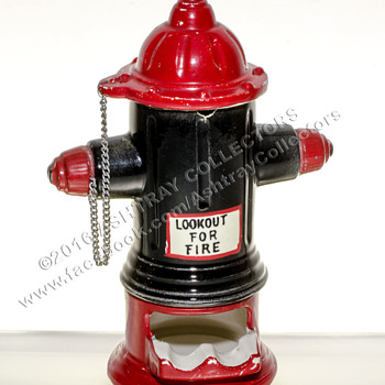 Fire Hydrant Ashtray - Tobacciana