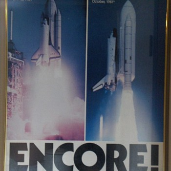 1981 Discovery Space Shuttle Premier Print