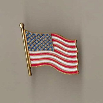 U.S. Flag Lapel Pin - Medals Pins and Badges