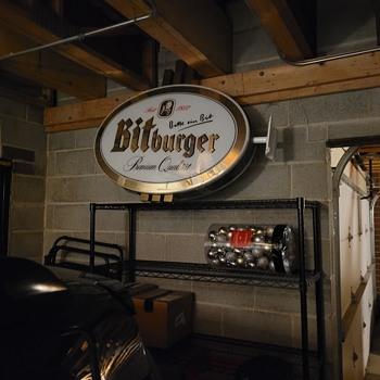 Bitburger sign - Signs