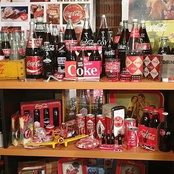 Collecting Coca Cola from around the world. - Coca-Cola