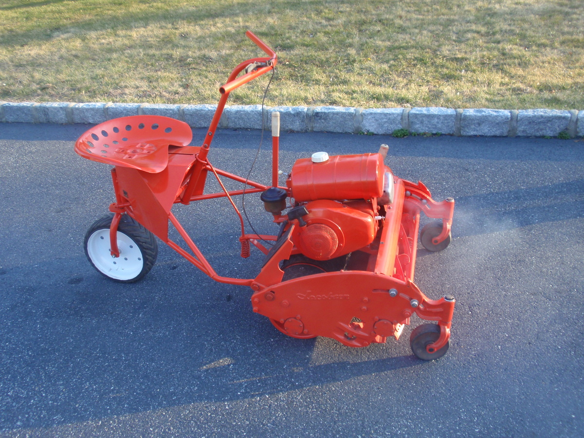 jacobsen estate reel mower from about 1961 collectors weekly. Black Bedroom Furniture Sets. Home Design Ideas