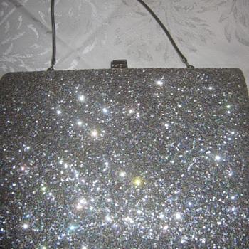 Vintage La Patti Exclusive Silver Bag/Clutch