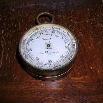 Barometric Altimeter - Keuffel & Esser Co. - Tools and Hardware