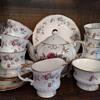 Rosamund Elizabethan Staffordshire china service for 8