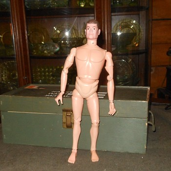 Loose Nude Foreign Soldiers Of The World (SOTW) GI Joe - Toys