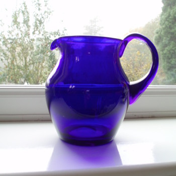 Bristol Blue 1920'2/30's? - Art Glass