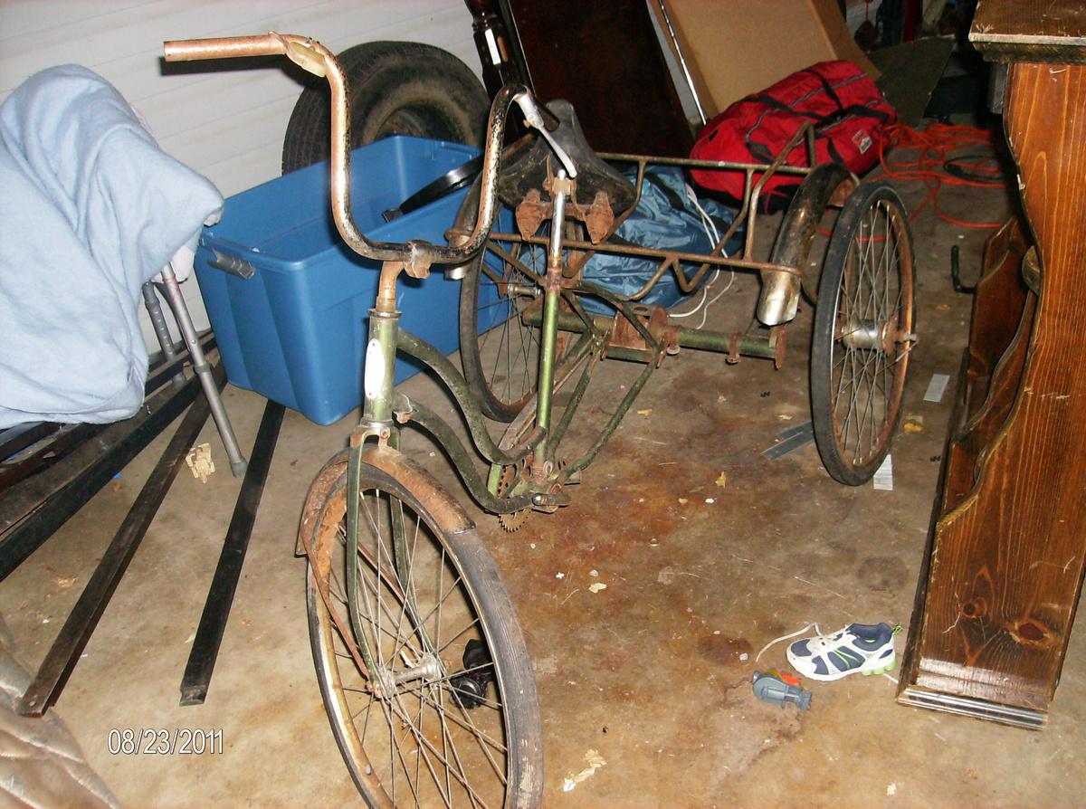 Old 30 S Schwinn Three Wheel Bike Collectors Weekly