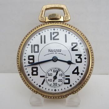 American Waltham Vanguard Pocket Watch