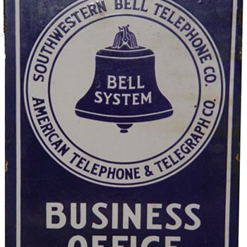Southwestern Bell Business Office - Signs