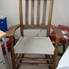 Antique Canadian rocking chair