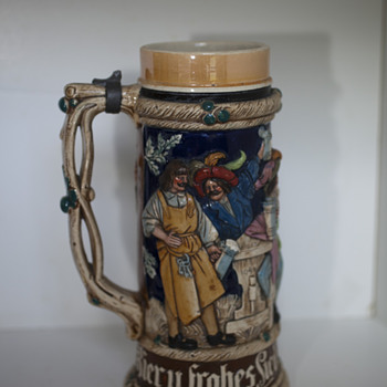 Family Beer Stein - Breweriana