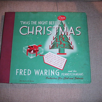 Fred Waring - The Night Before Christmas - Records