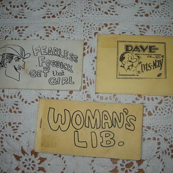 Comic booklets