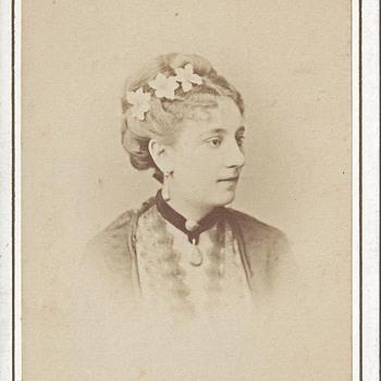 Miss Lefebvre CDV by CH Reutlinger of Paris, France