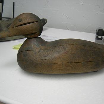 Old Duck Decoys  - Folk Art
