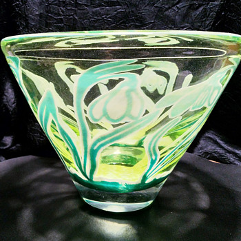 Limited edition graal - Art Glass