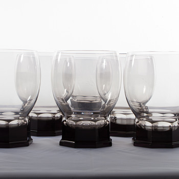 A.D. Copier Whiskey Glasses Leerdam - Glassware