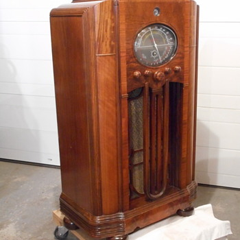 1936/37 Marconi console radio - Radios