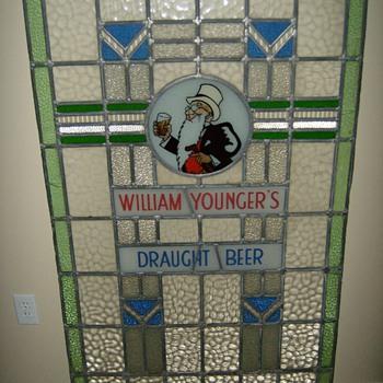 Scottish Pub Window