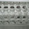 Sklo Union, Pressed Glass Vase Designed by Rudolf Jurnikl in 1963, Made at Rudolfova Hut