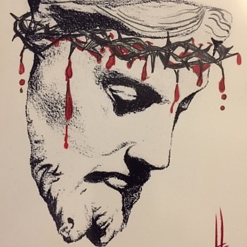 Jesus Christ Original Art Not To Be Sold! - Fine Art