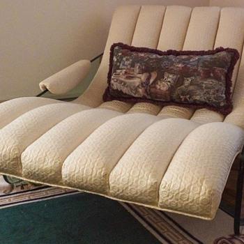 Mid Century Modern Glass Living Room Set - Furniture