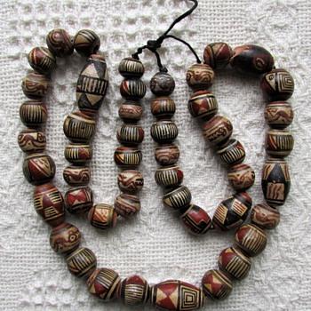Native American Pueblo Bead Necklace ??? - Native American
