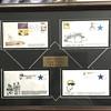 Roberto Clemente framed envelopes