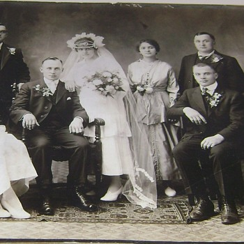 Old Wedding Photograph