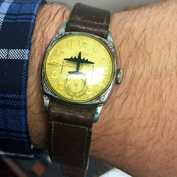 attack plane watch russian men s military watches aviator item poljot rare