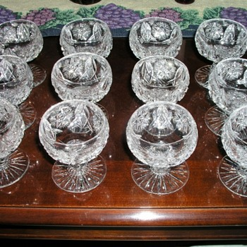 Pitkins & Brooks  - Glassware