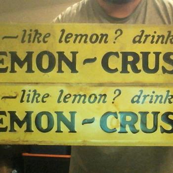 Lemon Crush - Signs