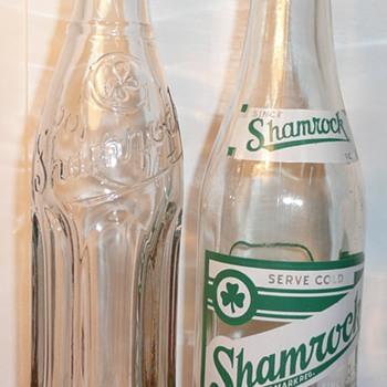 Shamrock & Dr. Cherry Bottles - Bottles