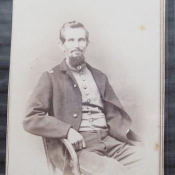 Lt. Ernest Jackman, 2nd NHV, later 6th USCT regiments