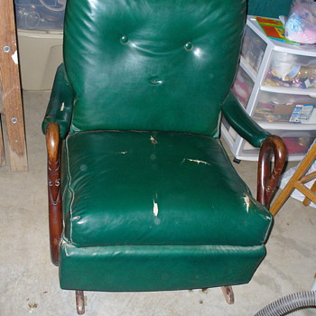 Grandfathers Old Rocking Chair