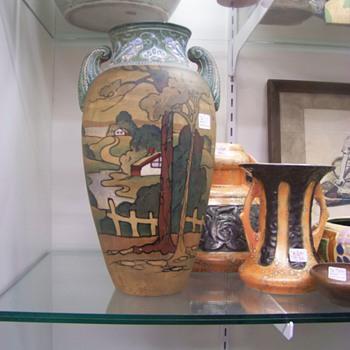 Art Pottery Vase - Pottery