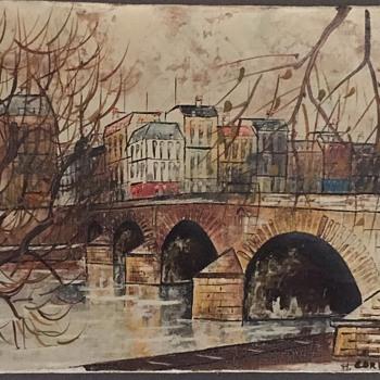 M Cordi Oil Paintings