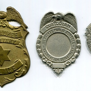 Unfinished Badges - Medals Pins and Badges