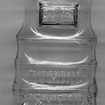 Vintage Domino Cosmetics Hoopskirt Shaped Bottle