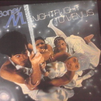 Boney M. Night Flight To Venus - Records