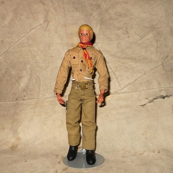 Kenner Steve Scout Bill Scout Mail Premium Figure - Toys