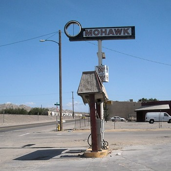 Route 66 Oro Grande CA - Photographs